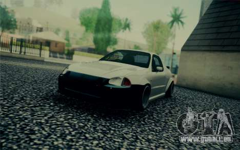 Honda Stance pour GTA San Andreas laissé vue