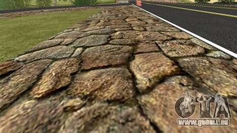 De nouvelles textures pour les Criminels de la R pour GTA San Andreas quatrième écran