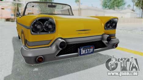 GTA 5 Declasse Tornado Bobbles and Plaques IVF pour GTA San Andreas vue intérieure