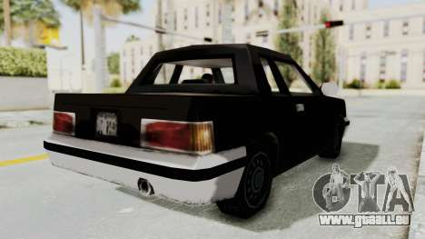 GTA 3 Manana pour GTA San Andreas sur la vue arrière gauche