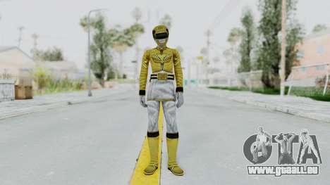 Power Rangers Megaforce - Yellow für GTA San Andreas zweiten Screenshot