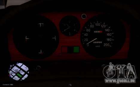 GAZ de 31029 Volga pour GTA San Andreas vue arrière