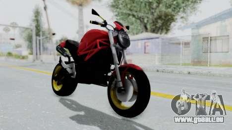 Ducati Monster für GTA San Andreas