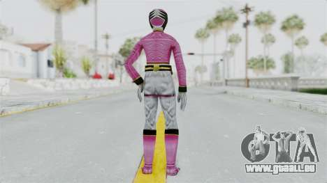 Power Rangers Samurai - Pink für GTA San Andreas dritten Screenshot
