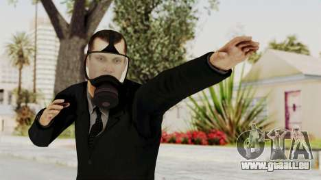 Wanted Weapons Of Fate Bodyguard für GTA San Andreas