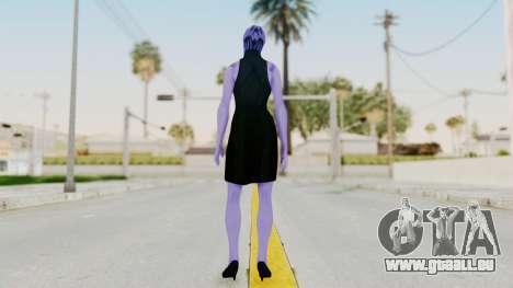 Mass Effect 3 Aria TLoak Gunn Dress pour GTA San Andreas troisième écran