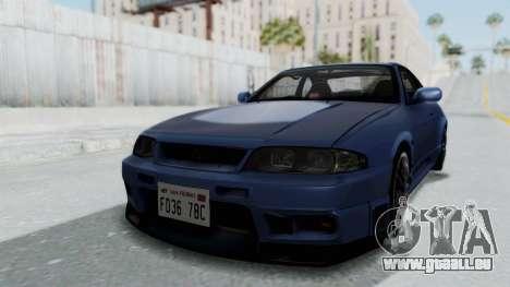 Nissan Skyline R33 GT-R V-Spec 1995 für GTA San Andreas