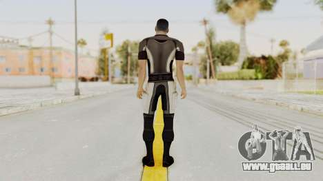 Mass Effect 2 Shepard Casual pour GTA San Andreas troisième écran