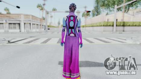 Mass Effect 1 Shaira Dress für GTA San Andreas dritten Screenshot