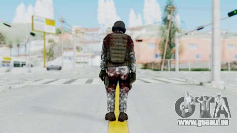 Black Mesa - Wounded HECU Marine v1 für GTA San Andreas dritten Screenshot