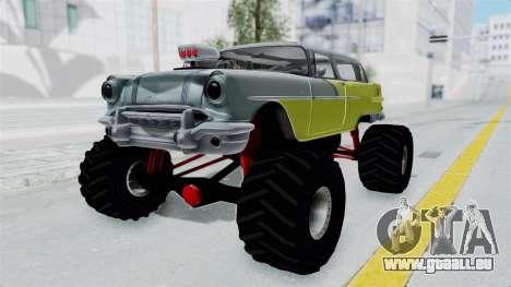 Pontiac Safari 1956 Monster Truck pour GTA San Andreas vue de droite