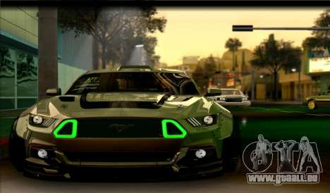Ford Mustang RTRX Coupe pour GTA San Andreas
