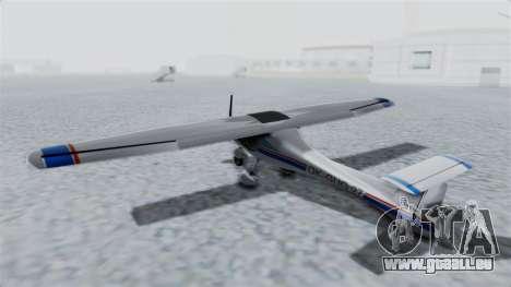 Ultralight Allegro 2000 v4 für GTA San Andreas rechten Ansicht