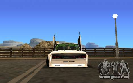 VAZ 2107 Race für GTA San Andreas linke Ansicht