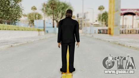 Wanted Weapons Of Fate Bodyguard für GTA San Andreas dritten Screenshot