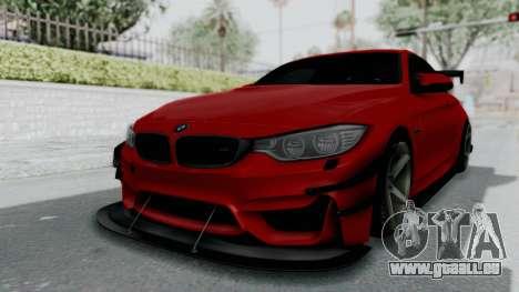 BMW M4 F82 Race Tune für GTA San Andreas