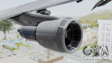 Boeing 747-200 American Airlines pour GTA San Andreas vue de droite