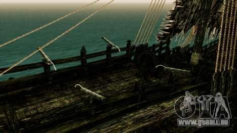 Flying Dutchman 3D pour GTA San Andreas vue arrière