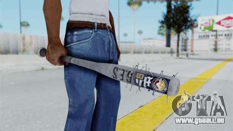 Nail Baseball Bat v5 pour GTA San Andreas troisième écran