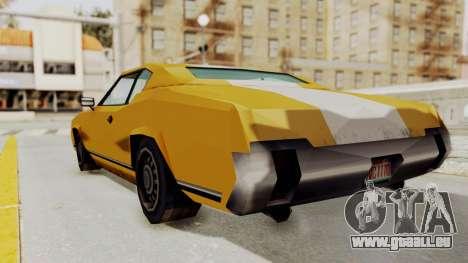 GTA VCS - Cholo Sabre für GTA San Andreas linke Ansicht