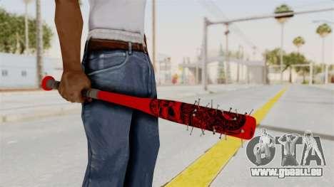 Nail Baseball Bat v2 pour GTA San Andreas troisième écran