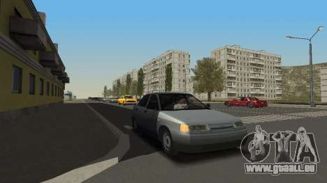 VAZ 2111 pour GTA San Andreas laissé vue