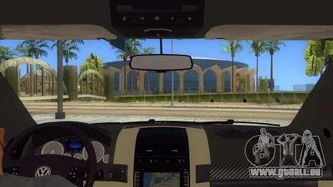 Volkswagen Touareg HQ für GTA San Andreas Innenansicht