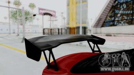 BMW M4 F82 Race Tune für GTA San Andreas Rückansicht