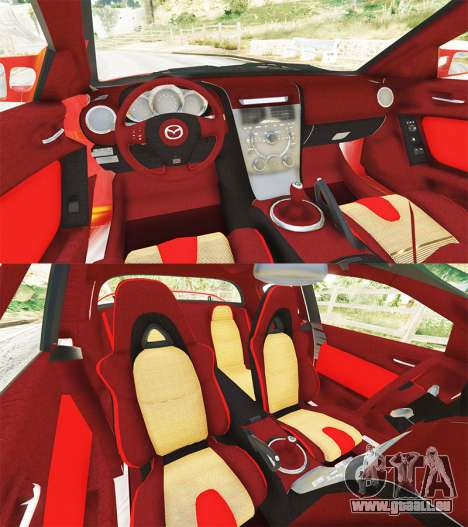 Mazda RX-8 2004 für GTA 5