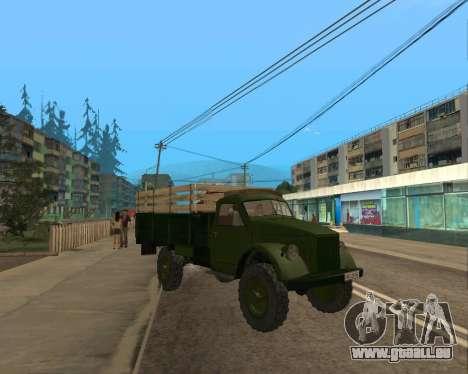De Gaz De 63 pour GTA San Andreas laissé vue