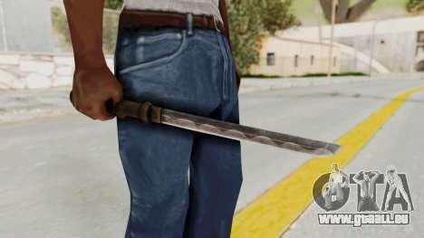 Skyrim Iron Tanto pour GTA San Andreas
