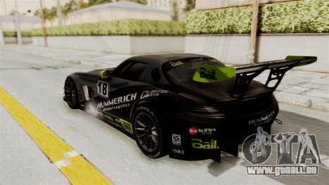 Mercedes-Benz SLS AMG GT3 PJ3 für GTA San Andreas Räder