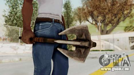 Skyrim Iron Mace pour GTA San Andreas troisième écran