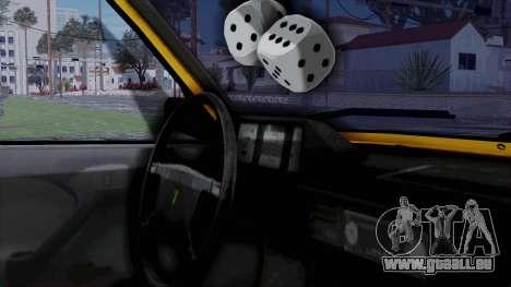Tofas Kartal Taxi für GTA San Andreas rechten Ansicht