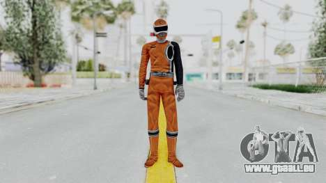 Power Rangers S.P.D - Orange für GTA San Andreas zweiten Screenshot