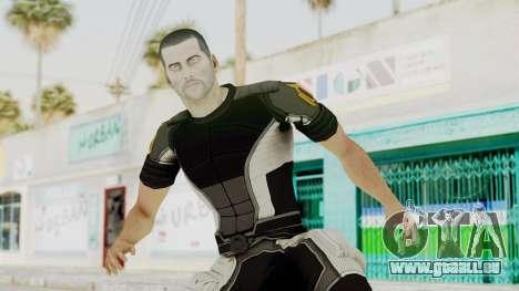 Mass Effect 2 Shepard Casual für GTA San Andreas