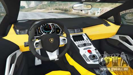 Lamborghini Aventador LP720-4 50th Anniversary pour GTA 5