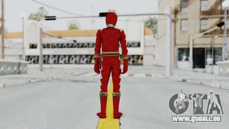Power Rangers Dino Thunder - Red pour GTA San Andreas troisième écran