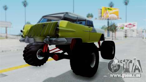 Pontiac Safari 1956 Monster Truck für GTA San Andreas linke Ansicht