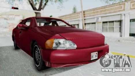 GTA 3 Kuruma für GTA San Andreas