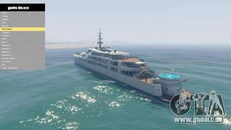 GTA 5 Yacht Deluxe 1.9 sechster Screenshot