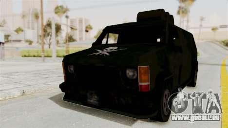 Boodhound Burrito - Manhunt 2 pour GTA San Andreas sur la vue arrière gauche