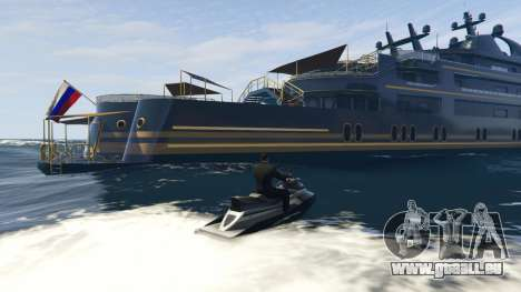 Yacht Deluxe 1.9 pour GTA 5