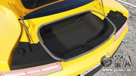 Chevrolet Camaro SS 2014 v1.1 pour GTA 5