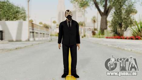Wanted Weapons Of Fate Bodyguard für GTA San Andreas zweiten Screenshot
