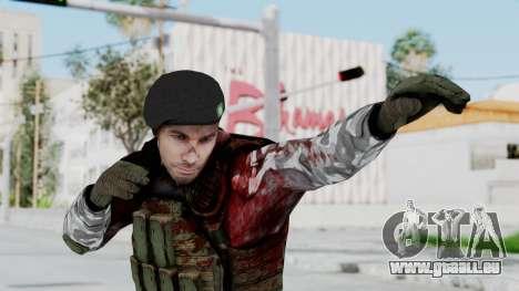 Black Mesa - Wounded HECU Marine Beret für GTA San Andreas