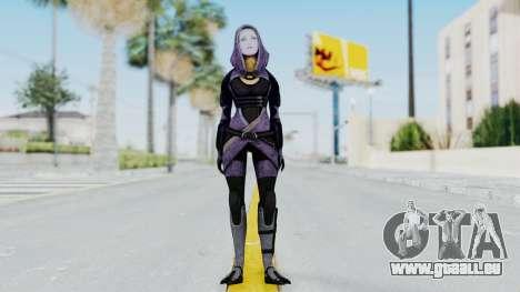 Mass Effect 3 Tali Zorah Unmasked für GTA San Andreas zweiten Screenshot