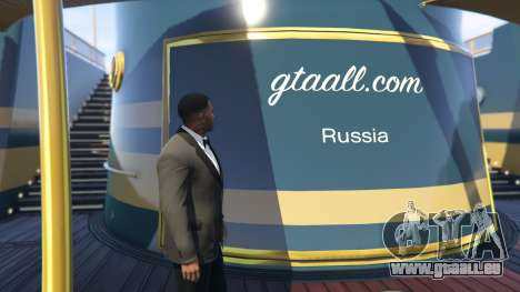 GTA 5 Yacht Deluxe 1.9 zweite Screenshot