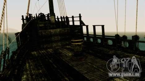Flying Dutchman 3D pour GTA San Andreas vue intérieure
