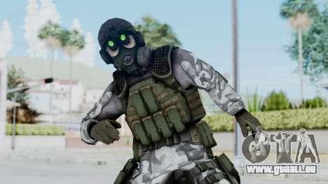 Black Mesa - HECU Marine v1 für GTA San Andreas